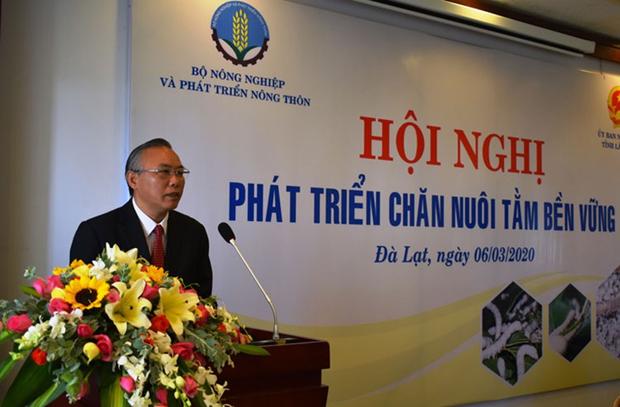 Conference nationale sur le developpement durable de la sericiculture a Da Lat hinh anh 1