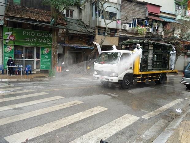COVID-19: Detection de deux autres cas a Hanoi hinh anh 1