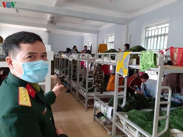 Le Vietnam garantit la qualite de ses centres de confinement hinh anh 1