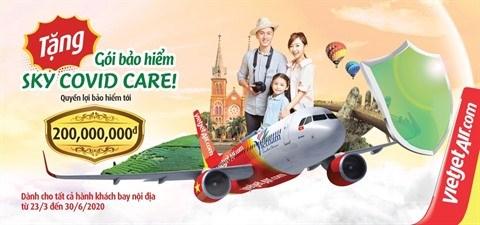 COVID-19: Vietjet offre une assurance speciale a tous ses passagers hinh anh 1