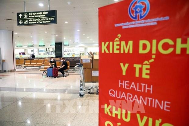 A partir de 0 h le 26 mars, suspension du transport des citoyens vietnamiens de l'etranger a Hanoi hinh anh 1