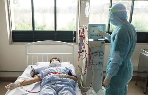 Ho Chi Minh-Ville: Mise en œuvre de la dialyse en zone d'isolement hinh anh 1