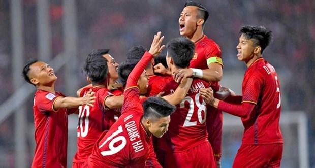 FIFA : L'equipe nationale du Vietnam dans le top 15 en Asie hinh anh 1