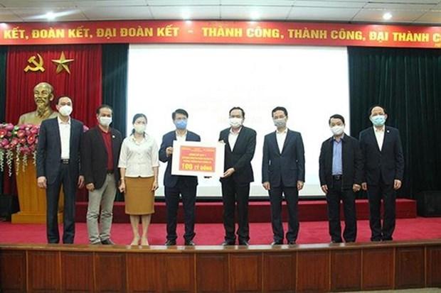 4,3 millions d'USD pour soutenir la lutte contre le COVID -19 hinh anh 1