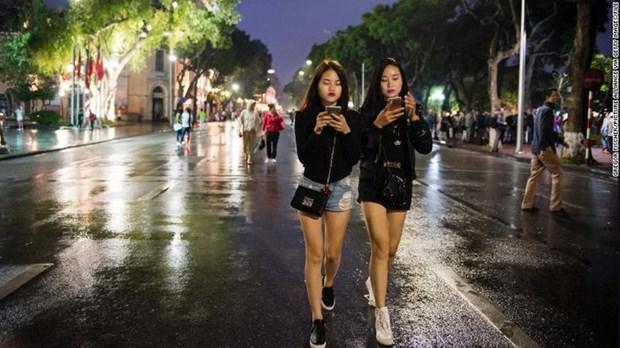 CNN s'etonne de la possibilite du developpement economique du Vietnam via les technologies hinh anh 1
