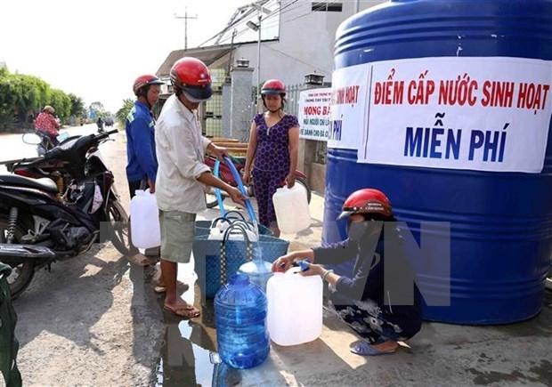 Tien Giang investit gros pour assurer l'eau potable dans les districts cotiers hinh anh 1
