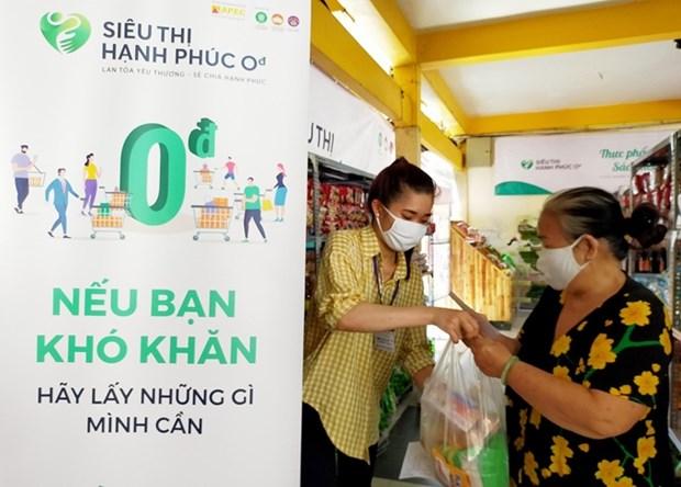 """Le """"Supermarche du bonheur"""" voit le jour a Ho Chi Minh-Ville hinh anh 1"""