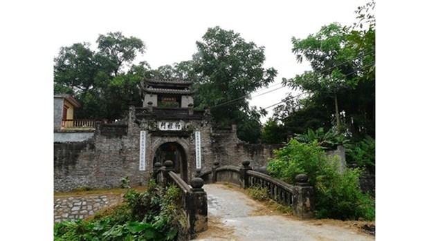 Visite de l'ancien village celebre pour ses delicieux « gio cha » de Uoc Le hinh anh 1