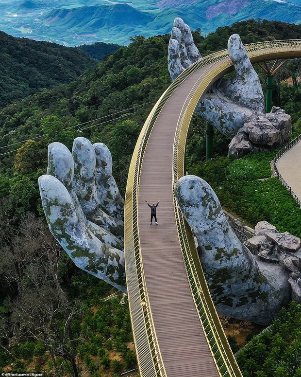 Un cliche du Golden Bridge gagne au concours de photo d'architecture 2020 hinh anh 1