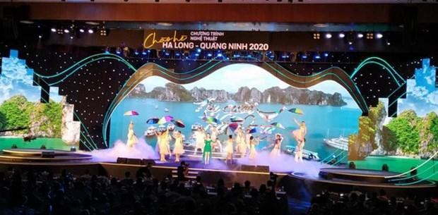 Le programme artistique «Bonjour l'ete Ha Long - Quang Ninh 2020» hinh anh 1