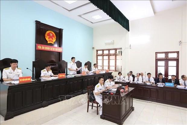 Proces de l'affaire Dinh Ngoc He et de ses complices hinh anh 1