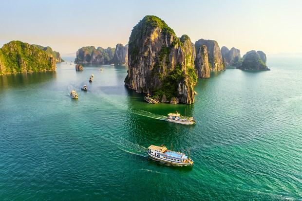 La baie d'Ha Long parmi les destinations ayant la plus belle structure rocheuse du monde hinh anh 1