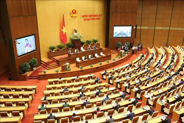 Ouverture de la 9e session de l'Assemblee nationale de la XIVe legislature hinh anh 1