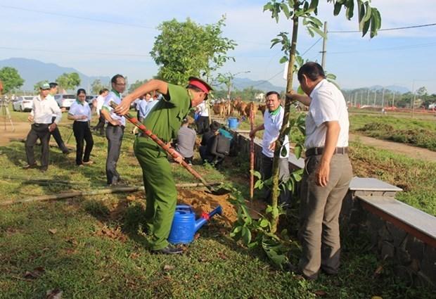 Lancement d'activites en echo au mois d'action pour l'environnement hinh anh 1