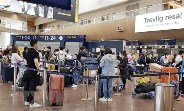 Plus de 300 Vietnamiens rapatries des pays europeens hinh anh 1