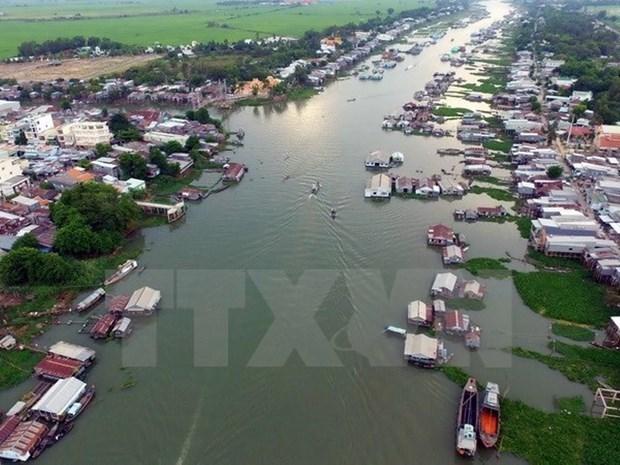 Le delta du Mekong en tete de l'indice de competitivite provinciale hinh anh 1