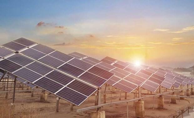 Sharp Corp. mettra en service bientot une centrale solaire au Vietnam hinh anh 1
