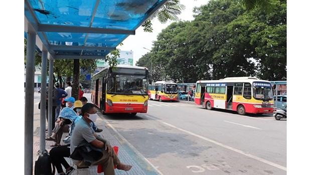 Hanoi delivre 330 000 cartes de bus gratuites hinh anh 1