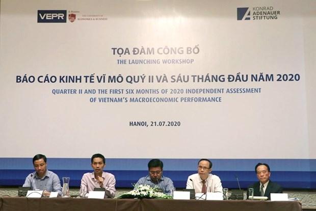 Le VEPR prevoit une croissance au Vietnam de 3,8 % en 2020 hinh anh 1