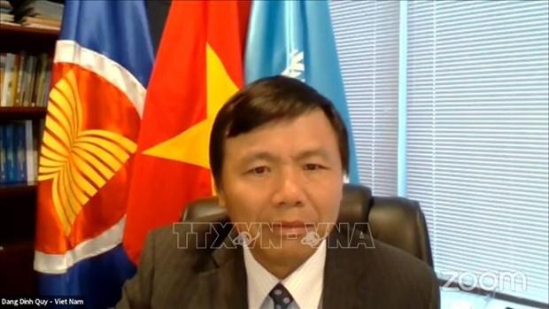 Le Vietnam appelle a promouvoir la participation des femmes en Afghanistan hinh anh 1