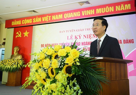 90e anniversaire de la Journee traditionnelle du secteur de la propagande et de l'education hinh anh 1