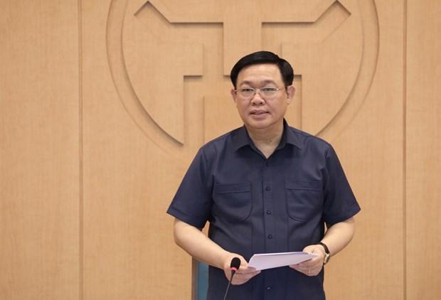 COVID-19 : Hanoi demande de mettre en œuvre immediatement des solutions urgentes hinh anh 1