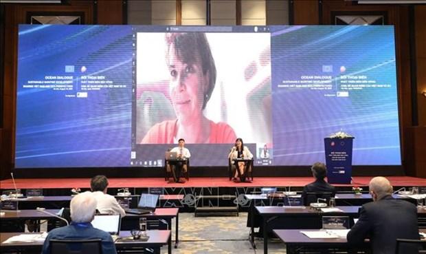 Promouvoir la cooperation dans l'economie maritime entre le Vietnam et l'Union europeenne hinh anh 1
