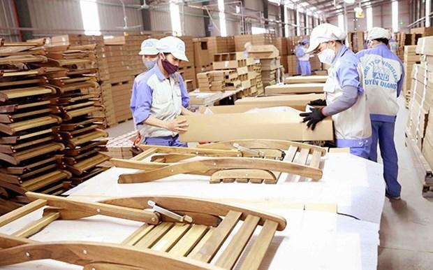 Malgre le coronavirus, les exportations de bois et de meubles augmentent hinh anh 1
