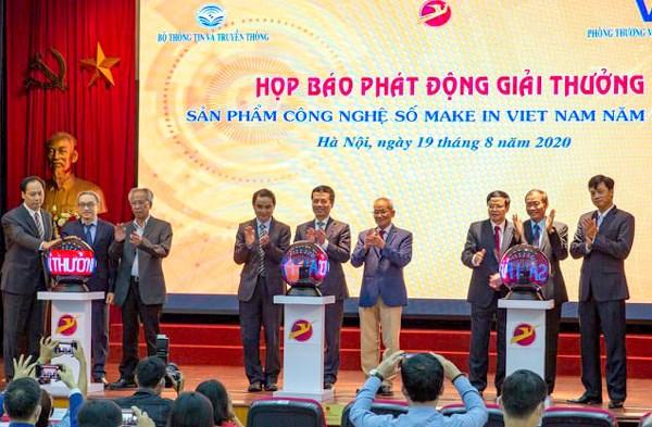 Lancement du prix « Make in Vietnam » pour les produits numeriques hinh anh 1