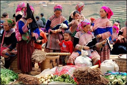 Les marches montagnards de Lao Cai, pour en prendre plein les mirettes hinh anh 1