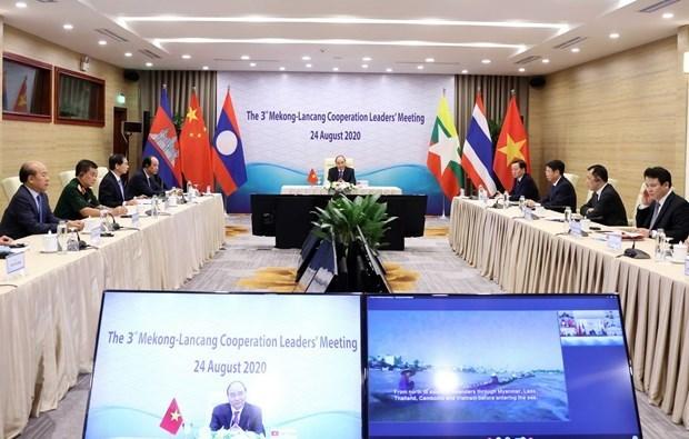 Le Vietnam contribue activement a la cooperation Mekong - Lancang hinh anh 1