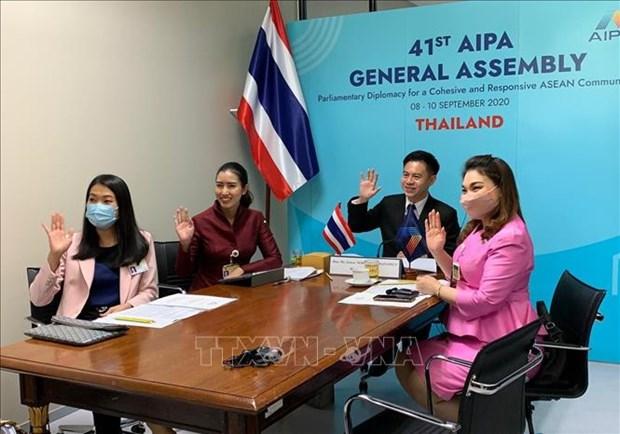 L'AIPA 41 adopte le programme d'activites et l'agenda de travail hinh anh 1