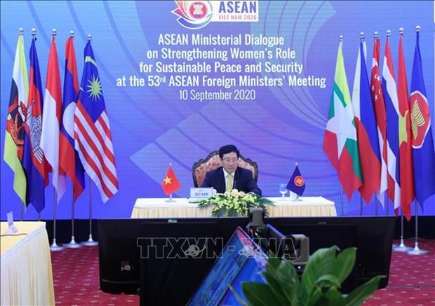 Dialogue ministeriel de l'ASEAN sur le renforcement du role des femmes pour la paix et la securite hinh anh 1