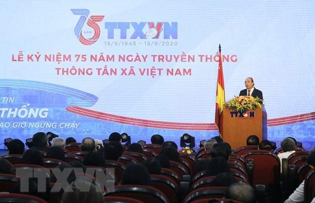 La VNA doit maintenir sa position de l'agence d'information digne de confiance du Parti et de l'Etat hinh anh 1