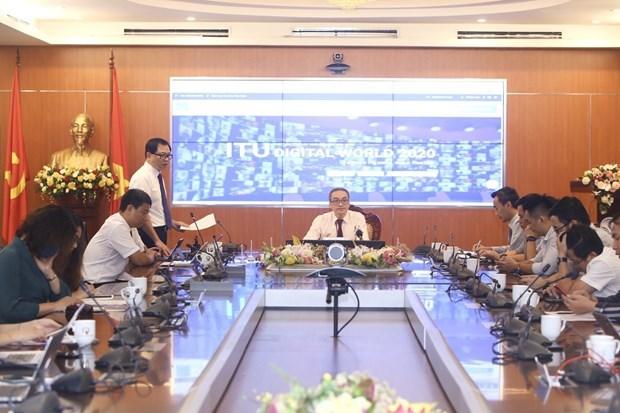 Le Vietnam accueillera le mois prochain le Monde numerique de l'UIT 2020 hinh anh 1