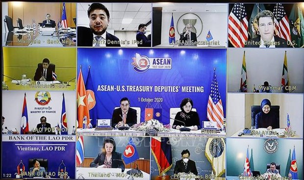 ASEAN 2020: Dialogue de cooperation financiere et bancaire entre l'ASEAN et les Etats-Unis hinh anh 1