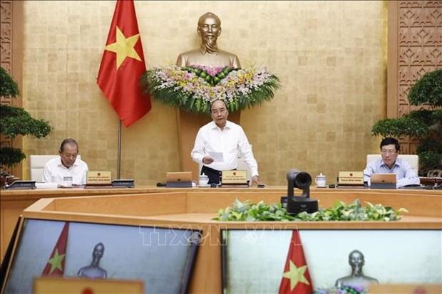 PM Nguyen Xuan Phuc: La situation socio-economique s'ameliore de plus en plus hinh anh 1