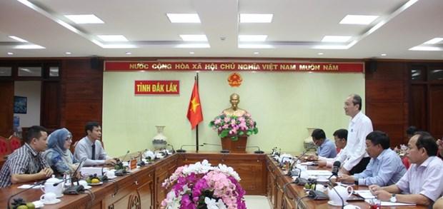 Le PNUD aide Dak Lak a s'adapter au changement climatique hinh anh 1