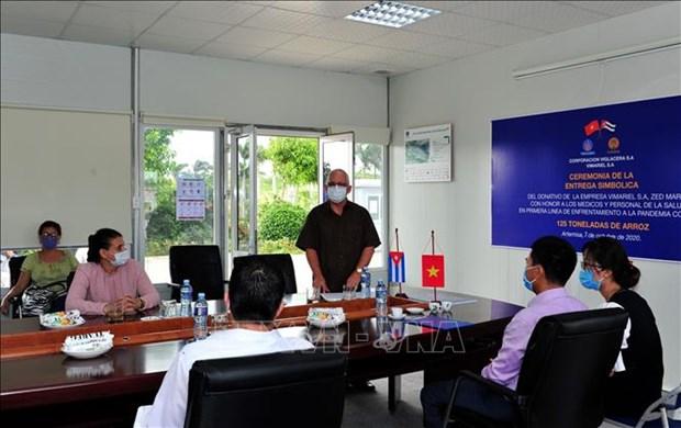 Des entreprises vietnamiennes accompagnent Cuba dans sa lutte contre le COVID-19 hinh anh 1