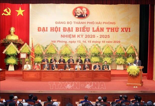Ouverture du 16e Congres de l'organisation du Parti de la ville de Hai Phong hinh anh 1