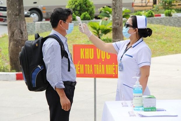 Le Vietnam entre dans le 43e jour sans cas de COVID-19 dans la communaute hinh anh 1