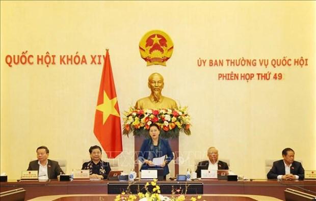 Cloture de la 49e session du Comite permanent de l'Assemblee nationale hinh anh 1