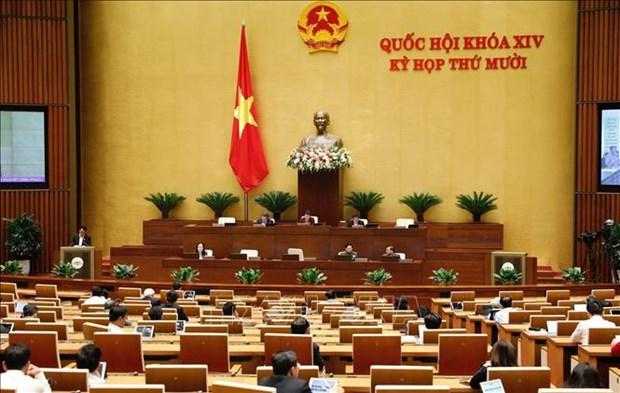 Les deputes discutent en ligne de la lutte contre la criminalite et la corruption le 26 octobre hinh anh 1