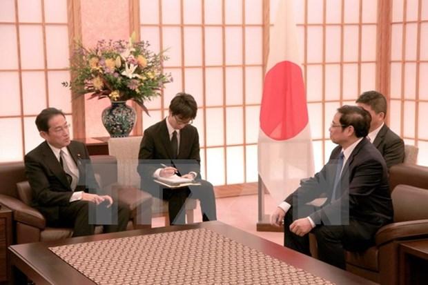 Le Japon continue de privilegier le developpement des relations avec le Vietnam hinh anh 2