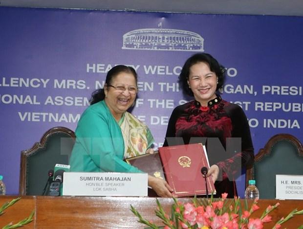 Promotion des relations entre les organes legislatifs Vietnam-Inde hinh anh 1