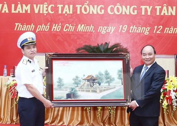 Tan Cang Sai Gon exhortee a remplir sa mission de defense et economique hinh anh 1