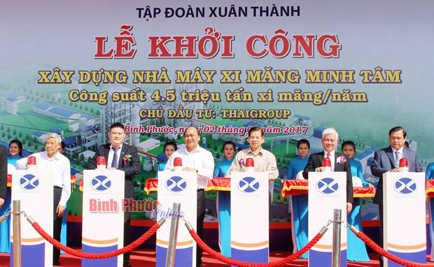 Le Premier ministre travaille dans la province de Binh Phuoc hinh anh 2