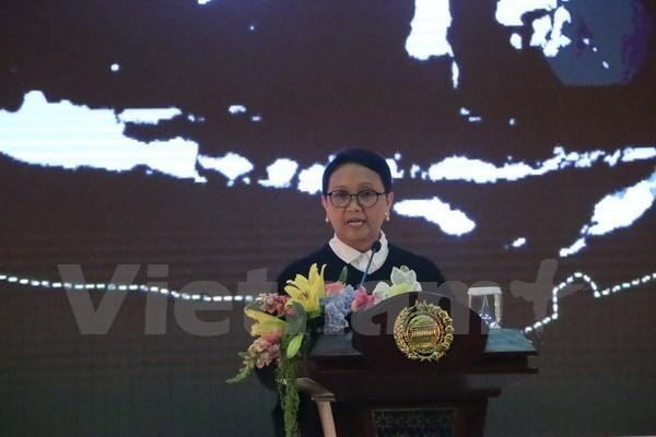 """L'ASEAN reste le """"fondement"""" de la polique etrangere de Jakarta hinh anh 1"""
