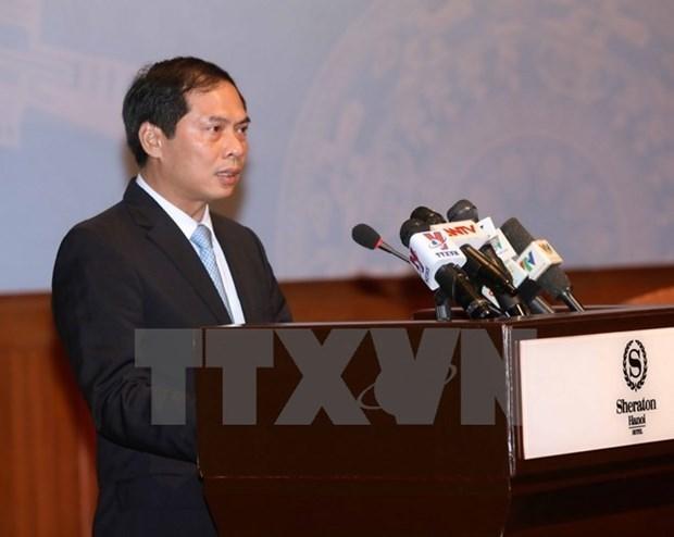 Vietnam-Espagne: consultation politique au niveau vice-ministeriel des AE hinh anh 1