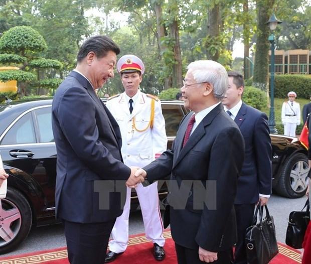 La Chine souhaite promouvoir les relations «saines et stables» avec le Vietnam hinh anh 1